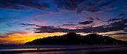 One of San Juan del Sur's fabled sunsets. SJDS, Nicaragua