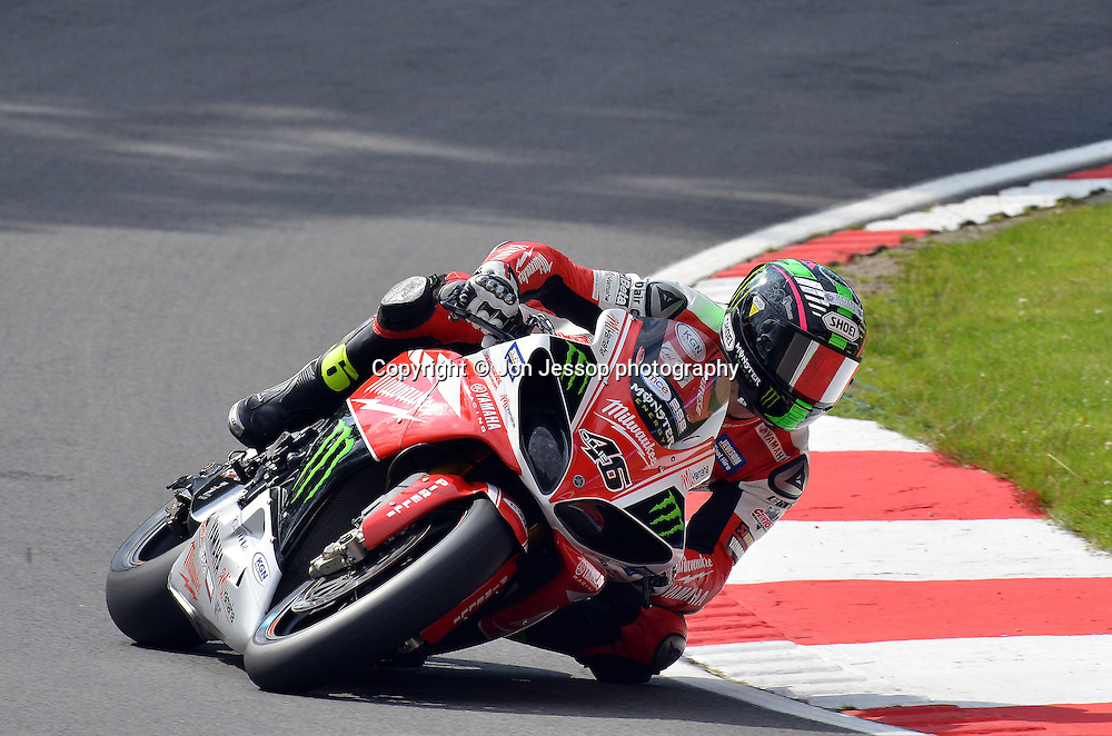 #46 Tommy Bridewell Milwaukee Yamaha British Superbikes