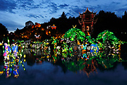 Chinese Lights Festival, Chinese Garden, Montreal, Quebec, Canada