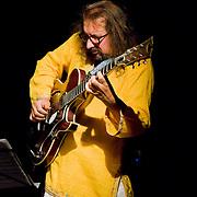 Alban Darche - Gadó Gábor - Sébastian Boisseau (H-F) | Mol Jazz Festival Pinceszinhaz 11th Sept 2009