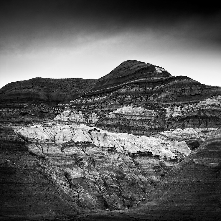 A coulee near Drumheller