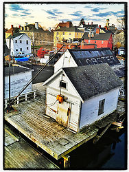 "The South End of Portsmouth, New Hampshire. iPhone photo - file size appropriate for print reproduction up to 8"" x 12""."