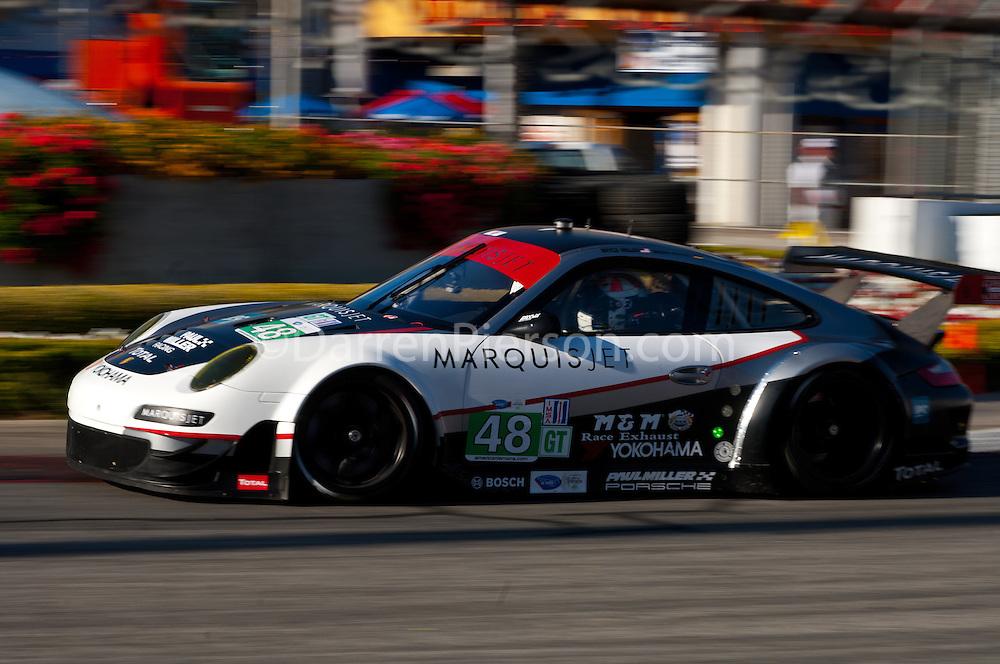 #48 Paul Miller Racing Porsche 911 GT3 RSR: Bryce Miller, Sasha Maassen