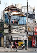Laundry & Dry Cleaning store ,French Quarter, Hanoi, Vietnam
