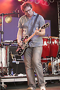 Gomez performs at Bonnaroo 2006.<br /> Photo by Bryan Rinnert<br /> June 17, 2006; Manchester, TN.  2006 Bonnaroo Music Festival.