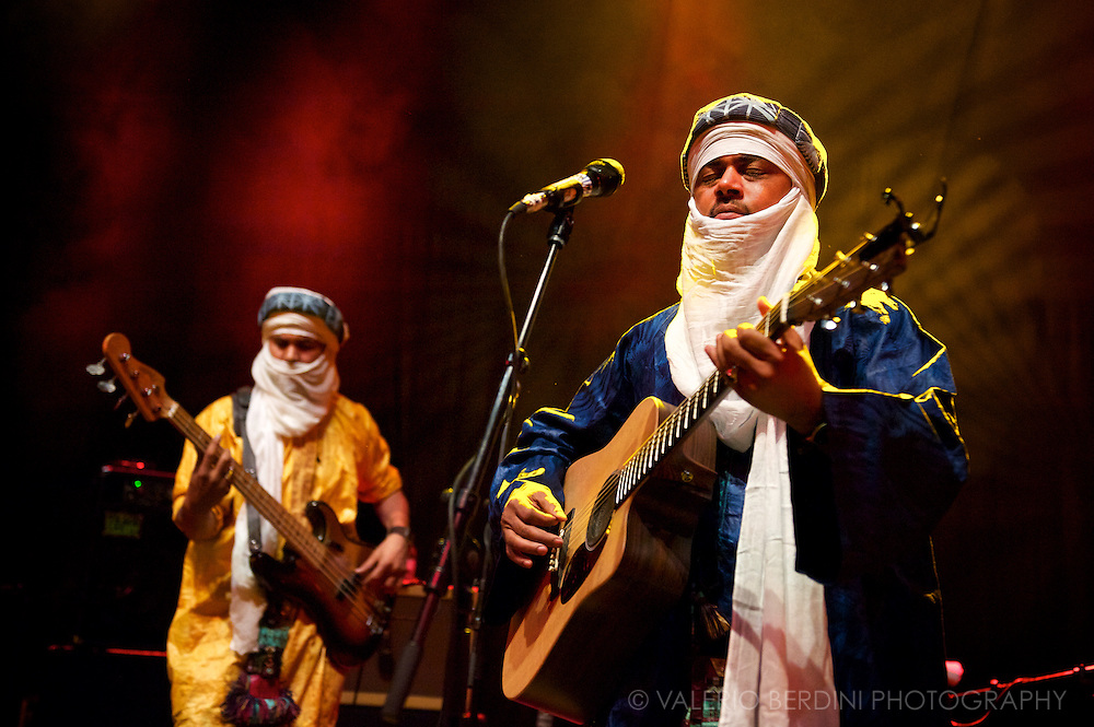 Tinariwen live at London O2 Shepherds Bush Empire 3 May 2012