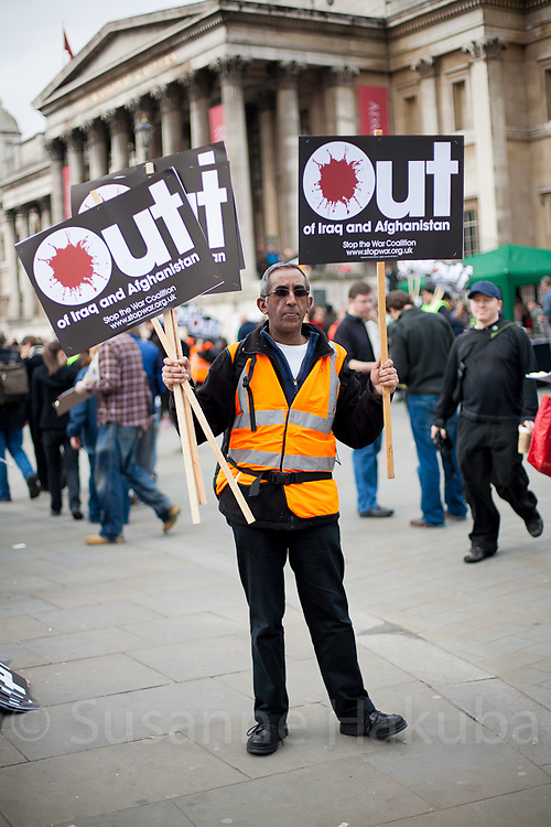 5 years of iraq war, protest, London, UK.