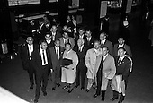 1963 - Massey Ferguson group departing Dublin for Paris Factory visit