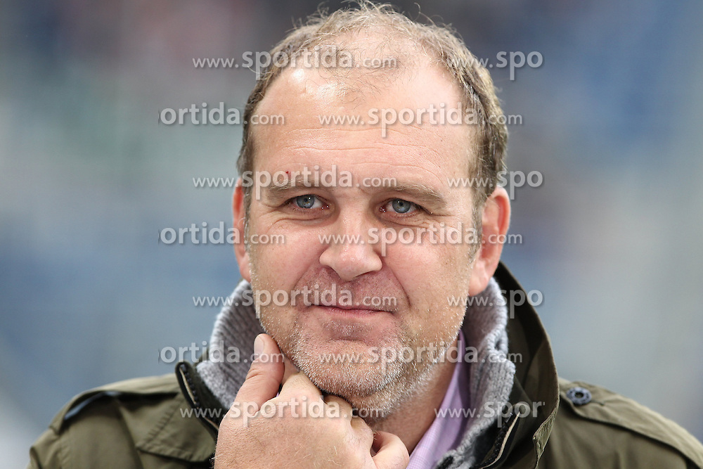 23.09.2012, Rhein Neckar Arena, Sinsheim, GER, 1. FBL, TSG 1899 Hoffenheim vs Hannover 96, 4. Runde, im Bild Bild: Joerg SCHMADTKE (Sportdirektor/ Hannover 96), Portrait // during the German Bundesliga 4th round match between TSG 1899 Hoffenheim and Hannover 96 at the Rhein Neckar Arena, Sinsheim, Germany on 2012/09/23. EXPA Pictures © 2012, PhotoCredit: EXPA/ Eibner/ Alexander Neis..***** ATTENTION - OUT OF GER *****