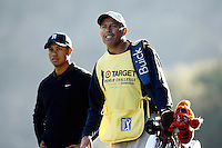 14 December 2007: Pro PGA golfer Tiger Woods caddy Steve Williams participates in the ninth annual Target World Challenge golf tournament presented by the Tiger Woods Foundation at Sherwood Country Club in Thousand Oaks Westlake Village in Southern California.