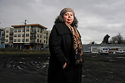 """Karen Gibson, an associate professor of urban studies and planning at Portland State University, is upset that the current wave of development along North Williams Avenue corridor did not occur  when  the area was the heart of Portland's black community. """"Twenty years ago you couldn't get a light fixture repaired,"""" Gibson said. """"It's just disgusting."""""""