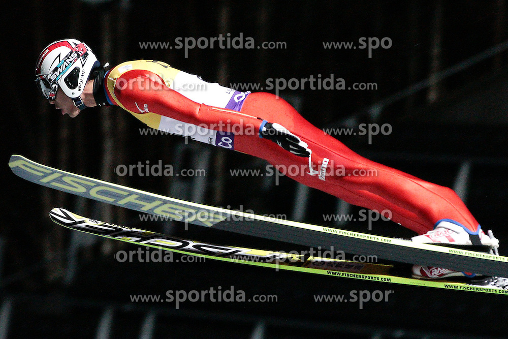 23.11.2012, Lysgards Schanze, Lillehammer, NOR, FIS Nordische Kombination Weltcup, provisorischer Wettkampfsprung, im Bild Watabe Akito (JPN) during Provisional Competition Round of FIS Nordic Combined Worldcup at the Lysgardsbakkene Ski Jumping Arena, Lillehammer, Norway on 2012/11/23. EXPA Pictures © 2012, PhotoCredit: EXPA/ Federico Modica