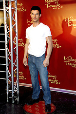MAR 19 2013 Taylor Lautner at Madame Tussauds Berlin