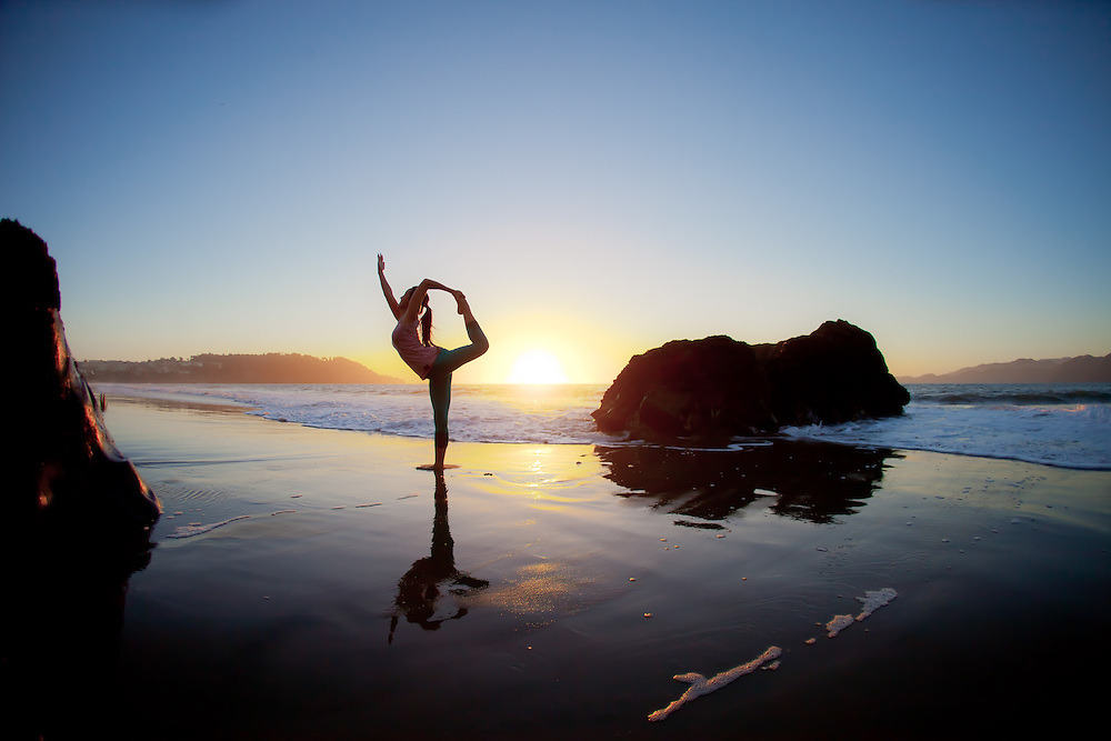Beach Yoga Pose Yoga on Pinterest Beach Yoga