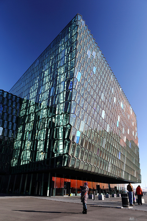 Harpa is a concert hall in Reykjavik, Iceland. Opened in 2011 it was designed by the Danish Henning Larsen Architects and Olafur Eliasson.