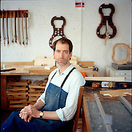 Jason Viseltear, violin maker