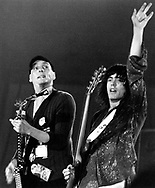 Cheap Trick 1979 Rick Nielsen and Tom Petersson.© Chris Walter.