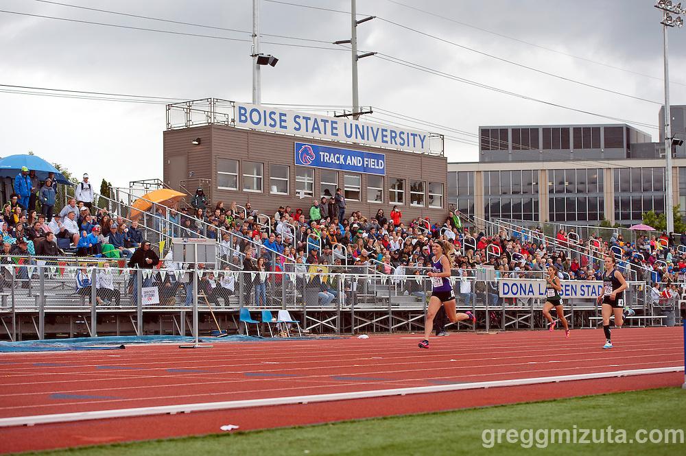 Idaho High School Track & Field State Championships at Dona Larson Park, Boise, Idaho. May 20, 2016.