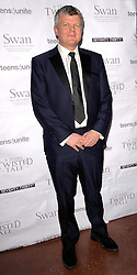 Adrian Chiles attends Teens Unite: A Twisted Tale - charity dinner at The Under Globe, Bankside, London on Saturday 22nd November 2014