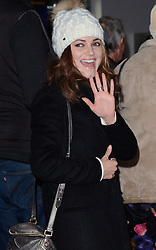 Kara Tointon attends A VIP Gala Performance of Matthew Bourne's Edward Scissorhands at Saddlers Wells Theatre, Rosebery Avenue, London on Sunday 7th December 2014