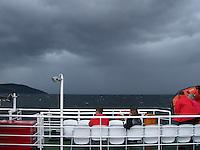 Ferry to Isle of Arran, Scotland....
