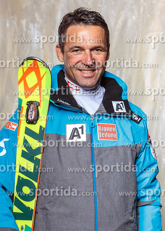 08.10.2016, Olympia Eisstadion, Innsbruck, AUT, OeSV Einkleidung Winterkollektion, Portraits 2016, im Bild Kriechbaum Jürgen, Ski Alpin Damen // during the Outfitting of the Ski Austria Winter Collection and official Portrait Photoshooting at the Olympia Eisstadion in Innsbruck, Austria on 2016/10/08. EXPA Pictures © 2016, PhotoCredit: EXPA/ JFK