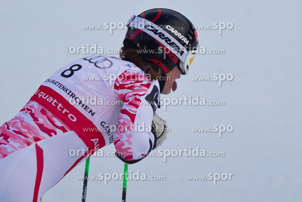 17.02.2011, Kandahar, Garmisch Partenkirchen, GER, FIS Alpin Ski WM 2011, GAP, Riesenslalom, im Bild Elisabeth Goergl (AUT) // Elisabeth Goergl (AUT)  during Giant Slalom Fis Alpine Ski World Championships in Garmisch Partenkirchen, Germany on 17/2/2011. EXPA Pictures © 2011, PhotoCredit: EXPA/ J. Groder