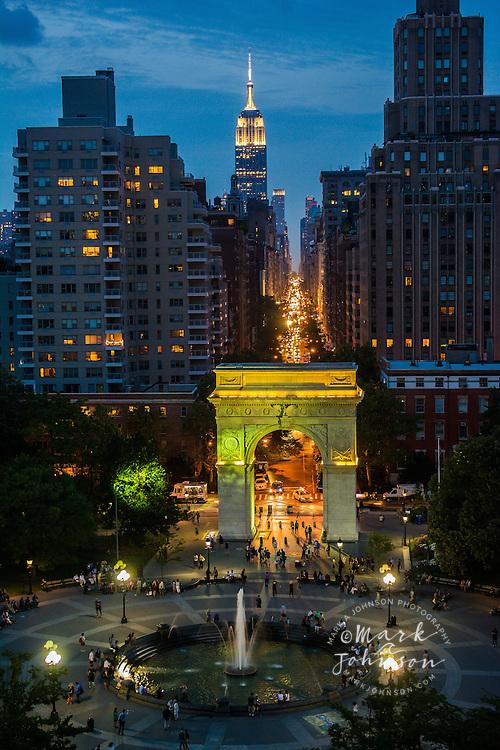Washington Square Park, Greenwich Village, Manhattan, New York City, New York, USA