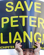 Protesters rallying in support of ex-cop Peter Liang