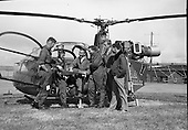 1963 - Helicopter Training Course at Baldonnell Aerodrome, Co. Dublin