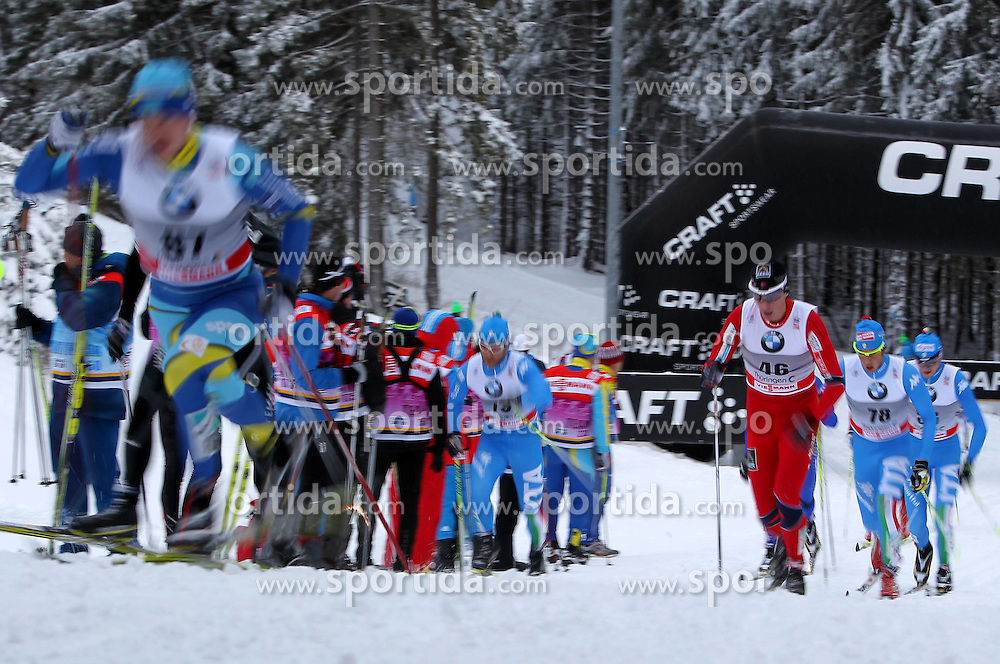 31.12.2011, DKB-Ski-ARENA, Oberhof, GER, Viessmann Tour de Ski 2011, FIS Langlauf Weltcup, Verfolgung Herren, im Bild  Feature, rechts Ola Vigen Hattestad (NOR) , Athleten am Anstieg // during men's pursuitof Viessmann Tour de Ski 2011 FIS World Cup Cross Country at DKB-SKI-Arena Oberhof, Germany on 2011/12/31. EXPA Pictures © 2011, PhotoCredit: EXPA/ nph/ Hessland..***** ATTENTION - OUT OF GER, CRO *****