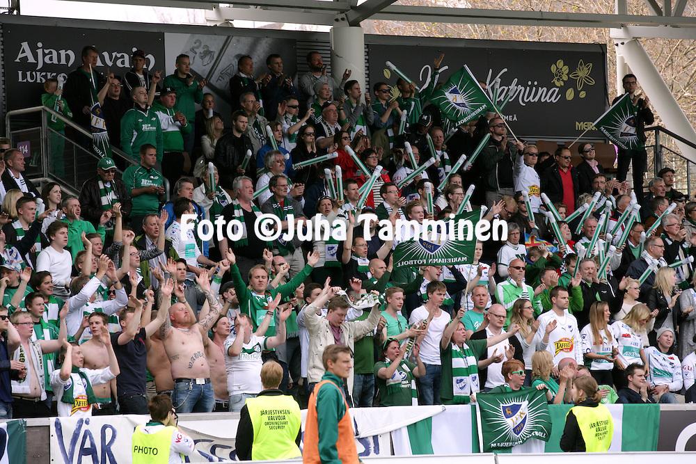 9.5.2013, Sonera stadion, Helsinki.<br /> Veikkausliiga 2013.<br /> FC HJK Helsinki - IFK Mariehamn.