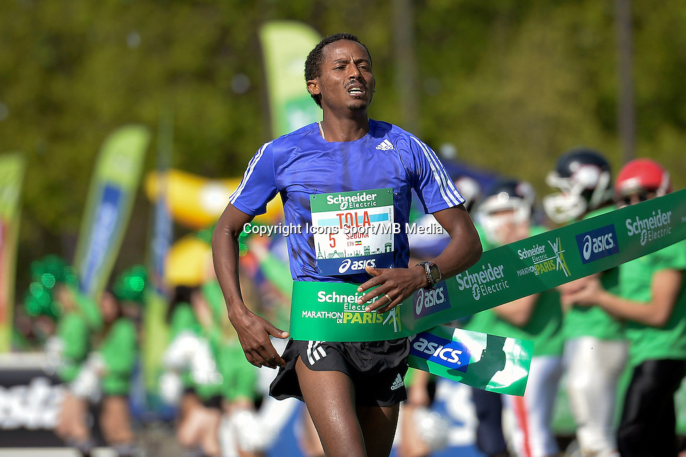 Seboka Tola - 12.04.2015 - Marathon de Paris 2015<br />