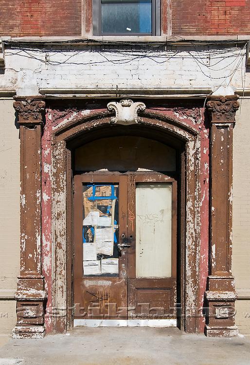 Old door in Manhattan