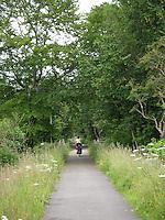 Biking in Scotland............
