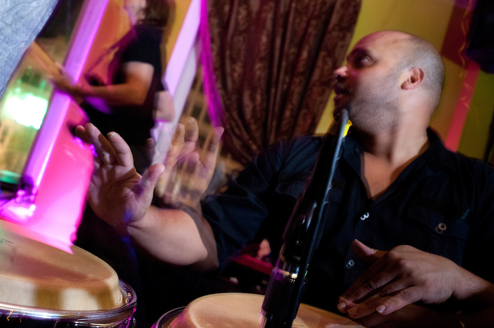 Washington, DC, October 13, 2010 - See-I plays Rockers International at Eighteenth Street Lounge