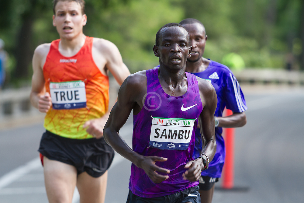 UAE Healthy Kidney 10K, Sambu leads True, Mutai with one mile to go