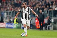 Torino - Champions League -  Juventus-Lione - Nella foto: Gonzalo Higuain - Juventus