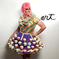 Columbus drag queen Nina West.(Jodi Miller/Alive)