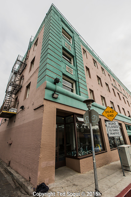 Cadillac Hotel on the boardwalk.<br /> Venice Beach story for LA Weekly