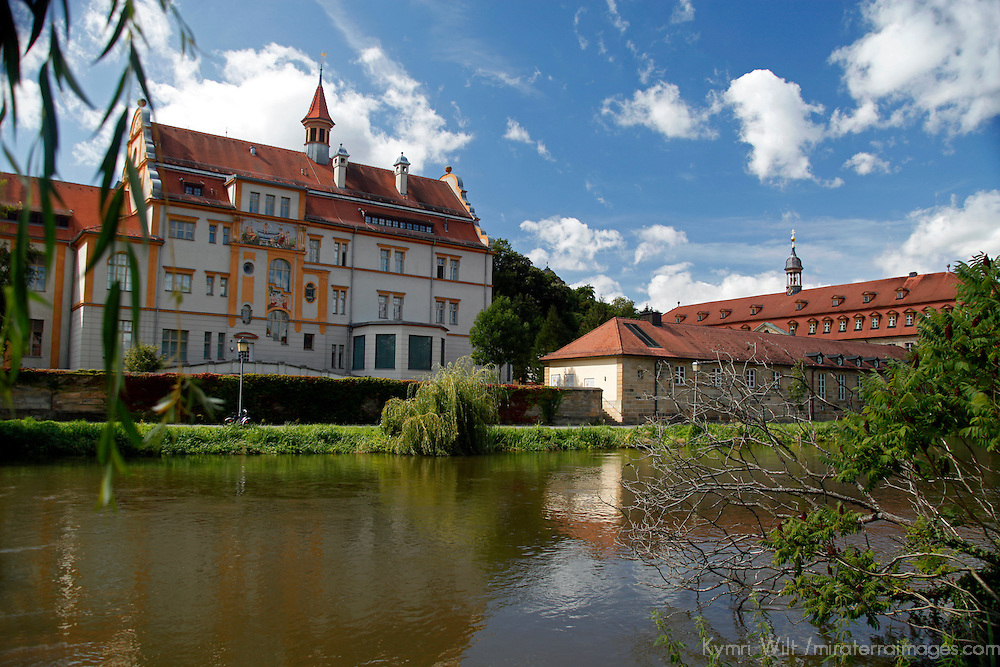 Europe, Germany, Bamberg. Scenic Bamberg on the Regnitz River.