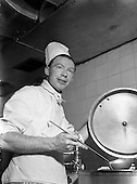 1954 - Desmond Cunningham, 2nd Chef at Dublin Airport