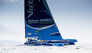 Image licensed to Lloyd Images <br /> The RORC Cowes - Dinard St Malo Race. Pictures of the &quot;Concise10&quot; MOD70 trimaran<br /> Credit: Lloyd Images