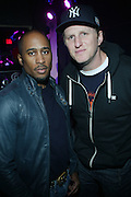 l to r: Ali Shaheed and Michael Rappaport at Mind, Body, Soul: A Benefit Concert For Diabetes Awareness presented Heavy Sound and Okay Player on January 20, 2010 held at The Knitting Fatctory in Brooklyn, New York. Terrence Jennings/Retna, Ltd