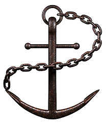 Sea Anchor on a white background