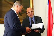 Daniel Martinez recibe al Pte de FInlandia