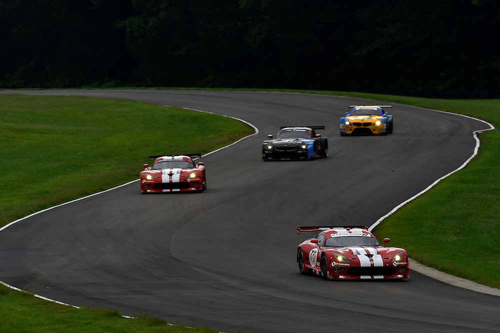 22-24 August 2014, Alton, Virginia USA<br /> 91, Viper V10, SRT GTS-R, GTLM, Dominik Farnbacher, Marc Goossens], 93, Viper V10, SRT GTS-R, GTLM, Jonathan Bomarito, Kuno Wittmer<br /> &copy;2014, Scott R LePage <br /> LAT Photo USA