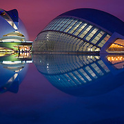 City of Arts and Sciences in Valencia (Spain)