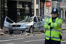 FEB 15 2014 High Holborn Building Collapse