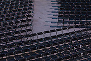 WASHINGTON, USA - January 18: The thousands of chairs for U.S. Officials and guests are set up on the West Front of the U.S. Capitol just days before the 58th Inauguration Ceremony where President-elect Donald Trump will be sworn into office in Washington, USA on January 18, 2017.